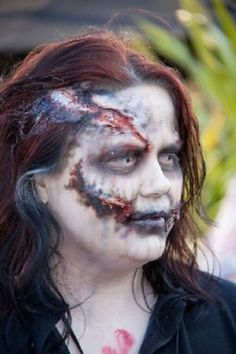 Another Zombie Makeup :D