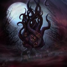 Dark Young of Shub-Niggurath by dloliver.deviantart.com on @deviantART