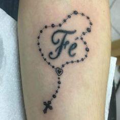 As 24 Melhores Imagens Em Tatuagens De Terços Catholic Tattoos