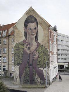 By Aryz. Aalborg, Denmark