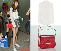 Soshified Styling Sooyoung: T by Alexander Wang, Louis Vuitton, Hermès