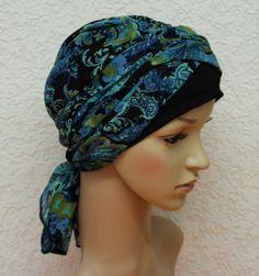 Volume turban, chemo head wear, chemo turban, one piece head covering, turban snood, short hair scarf, chemo bonnet, bad hair day scarf by accessoriesbyrita on Etsy