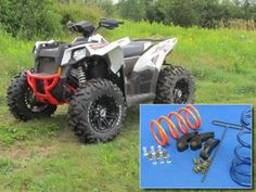 2014 Polaris Scrambler 1000 4X4 ATV Stock or oversized tires, adjustable kit.   Optimum clutch calibration for the Scrambler 1000 XP. One clutch kit that can be set up for different tires and conditions means accurate calibration for your own situation.