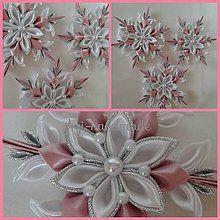 Diy Hair Bows, Diy Bow, Christmas Holidays, Christmas Decorations, Kanzashi Tutorial, Ribbon Art, Lace Flowers, Hair Clips, Snowflakes