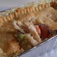 Freezer Individual Chicken Pot Pies!  Going to bake some of these for Jeff to take for his lunch to work!
