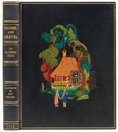Hansel and Gretel and Other Stories by The Brothers Grimm. Illustrated by K. Nielsen. Publisher: New York, George H. Doran Company, 1925.