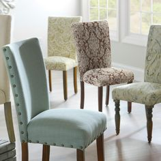 Our very popular Parsons Chairs are on sale! Save $20 off through 7/19.