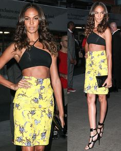 9d66c79fdf7f Number 1 Model Joan Smalls Shows Statuesque Beauty in Tom Ford Sandals