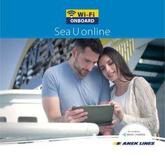 Ταξιδέψτε με ANEK LINES και σερφάρετε με το αναβαθμισμένο WiFi On Board Transportation, Travel, Viajes, Destinations, Traveling, Trips