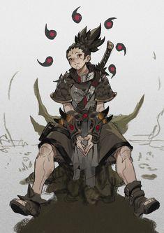 Character Design Animation, Fantasy Character Design, Character Drawing, Character Design Inspiration, Character Concept, Character Creation, Black Anime Characters, Dnd Characters, Fantasy Characters