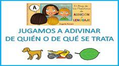 Jugamos a adivinar de quién o de que se trata. Autora Eugenia Romero. http://blogdelosmaestrosdeaudicionylenguaje.blogspot.com.es
