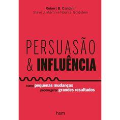 Livro - Persuasão e Influência - Americanas.com