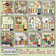 SPRING HAS SPRUNG AT IVY SCRAPS! BEAUTIFUL NEW PRODUCTS