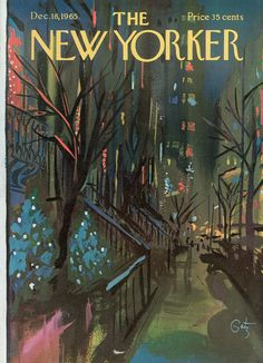The New Yorker - Saturday, December 18, 1965 - Issue # 2131 - Vol. 41 - N° 44 - Cover by : Arthur Getz