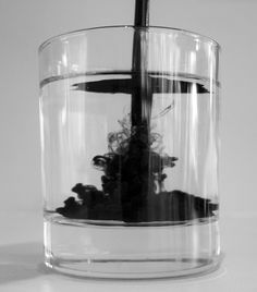 Sean Dunlop - Indian Ink, looks cool Plain Canvas, Ink In Water, Water Photography, Looks Cool, Installation Art, My Favorite Color, Dark Art, At Least, Images