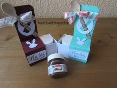 Mini Nutella Verpackung mit Produkten von Stampin' Up! u.a.; inkl. Anleitung