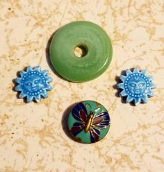 I love these pieces, the green one especially speaks to me - I have an idea brewing already for it! Brewing, Soup, Beads, My Love, Create, Green, Party, Blog, Beading