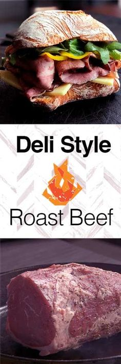 This fool proof recipe for Deli Style Roast Beef will have you. This fool proof recipe for Deli Style Roast Beef will have you wondering why you ever bought the processed junk from the supermarket. Beef Steak Recipes, Roast Recipes, Wow Recipe, Quick Dinner Recipes, Diy Food, Food Ideas, Roast Beef, Casserole Recipes, Good Food