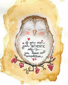 Wise owl ~