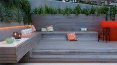 Built-in bench // Jamie Durie
