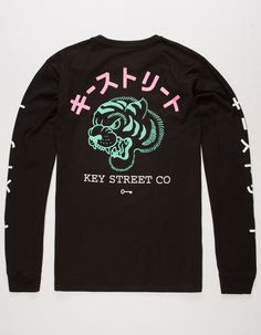 KEY STREET Tora Mens T-Shirt