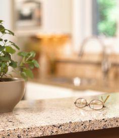 Light Quartz Countertop With Dark Cabinets Kitchens Pinterest Countertop Lights And Kitchens
