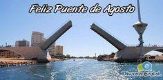 feliz puente de agosto desde discove english  academia de ingés de Fuente Alamo