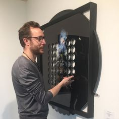 """News from The booth C51. Check out the last """"game"""" by Niccolò Montesi here at Scope Basel. Who wants to play??"""