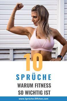 10 Sprüche warum Fitness so wichtig ist Workout, Bikinis, Swimwear, Training, Weight Loss Secrets, Fitness Sayings, Lean Body, Lose Fat, Dieting Tips