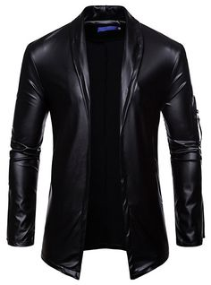 Night Club Leather Jacket Men Slim Fit Motorcycle Leather Jacket Golden/Silver Blazer Jacket Male PU Coat Size M Color Black Winter Leather Jackets, Men's Leather Jacket, Leather Men, Leather Coats, Pink Leather, Blazer Fashion, Mens Fashion, Cheap Mens Jackets, Biker Look