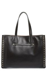 Valentino 'Rockstud - Soft' Leather Tote