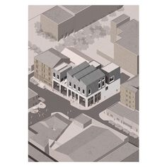 The Barras Traders Tavern - A trade union for Glasgow's Barras Market, established to protect and further the rights, interests and history of the Barras Market. . . . . . . . . . #macmag43 #architecture #axonometric #drawingarchitecture #glasgowschoolofart #archdaily #koozarch