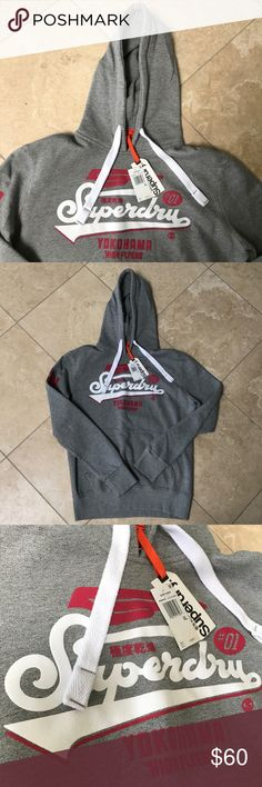 NWT SUPER DRY HOODIE MENS SIZE LARGE BRAND NEW SUPER DRY HOODIE MENS SIZE LARGE 100% AUTHENTIC.    SHIPS SAME OR NEXT DAY FROM MY SMOKE FREE HOME.   REASONABLE OFFERS WILL ONLY BE CONSIDERED THROUGH THE OFFER BUTTON. ANY OFFERS IN COMMENTS WILL BE IGNORED.   BUNDLE DISCOUNT SUBJECT TO MY APPROVAL. ✨   TRUSTED RELIABLE SELLER. ALL PRODUCT IS 100% AUTHENTIC Super Dry Shirts Sweatshirts & Hoodies