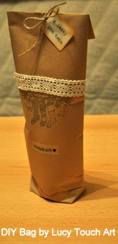 Darčekové vrecko v 10tich krokoch:)~môj FOTOnávod / Lucy-Art » SAShE.sk - slovenský handmade dizajn