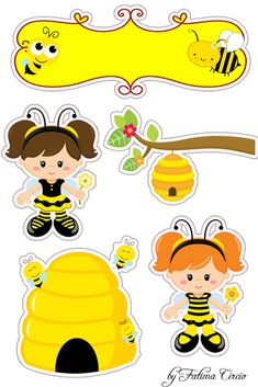 Идея Diy And Crafts, Paper Crafts, Bee Party, Bee Theme, Classroom Themes, Kids Cards, Happy Planner, Planner Stickers, Paper Dolls