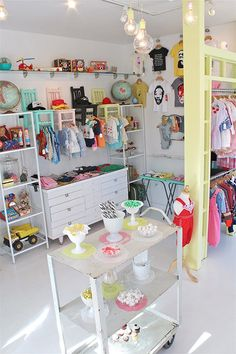 Shella Garcia recently opened a children's boutique for new and vintage clothing, toys and accessories in Long Beach, Ca.