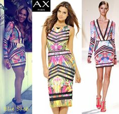 The Beautiful Beyonce sporting a gorgeous Elie Saab dress similar to our AxParis number! STYLE STEAL with this Jungle Printed Coloured Print Midi Dress Elie Saab Dresses, Jungle Print, Street Outfit, Every Girl, Fashion Prints, Fashion Online, Dresses For Work, My Style, Womens Fashion