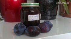 Slivkový lekvár - pečený, nemiešaný Slovak Recipes, Preserves, Nutella, Plum, Frozen, Canning, Fruit, Food, Home Canning