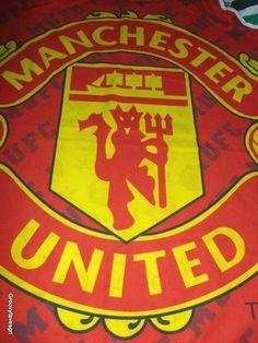 Manchester United UTD Man Single Duvet Pillow Case Soccer Vtg Football 1994 #Soccer #Football #ManchesterUTD #Manchester