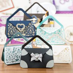 Tonic Bag and Rococo Die Collection (347728) | Create and Craft
