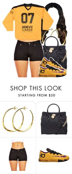 """""""Again"""" by queen-tiller ❤ liked on Polyvore featuring Rebecca Norman, MICHAEL Michael Kors and NIKE"""