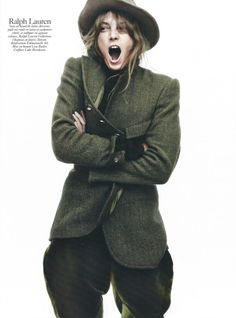 a105f9d61d Fashion pictures or video of Daria Werbowy  Vogue Paris