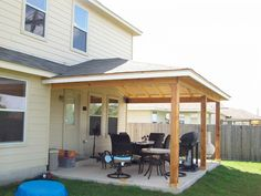 Detached Wood Patio Covers - Simple House | awnings/shades ...