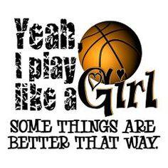 Play Like a Girl - Basketball Iron On> Play Like a Girl - Basketball> InsanityWear.com T-shirts and Gifts