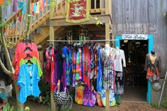 Stores include an imported gifts outlet known as Small Axe Productions, The General Store, Block Print Graphics, and even a shop for Henna Body Art.