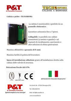 Risparmia con le caldaie a biomassa sfruttando le detrazioni fiscali del 65%. Scegli prodotti di qualità (Prodotti italiani) e affidati a dei professionisti per l'installazione della caldaia e la redazione della documentazione tecnica. Per conoscere costi e valutare insieme i risparmi effettivi: Tel: 0381/660318 - Mail: info@trumellini.it - www.trumellini.it