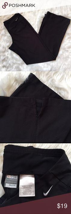 Nike Fit Dry Pants - Size M Wide leg black pants. Super comfy. Great condition. Nike Pants