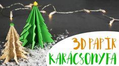 3D-s Papír Karácsonyfa - INSPIRACIOK.HU | Csorba Anita