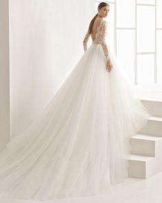 FAVORITE!!!!!!! Niher vestido de novia Rosa Clará 2017