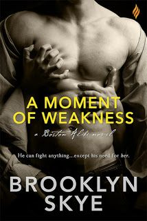 172. A Moment of Weakness by Brooklyn Skye - 3 stars. Review: http://eaterofbooks.blogspot.com/2015/10/reviews-brazen-edition-2.html